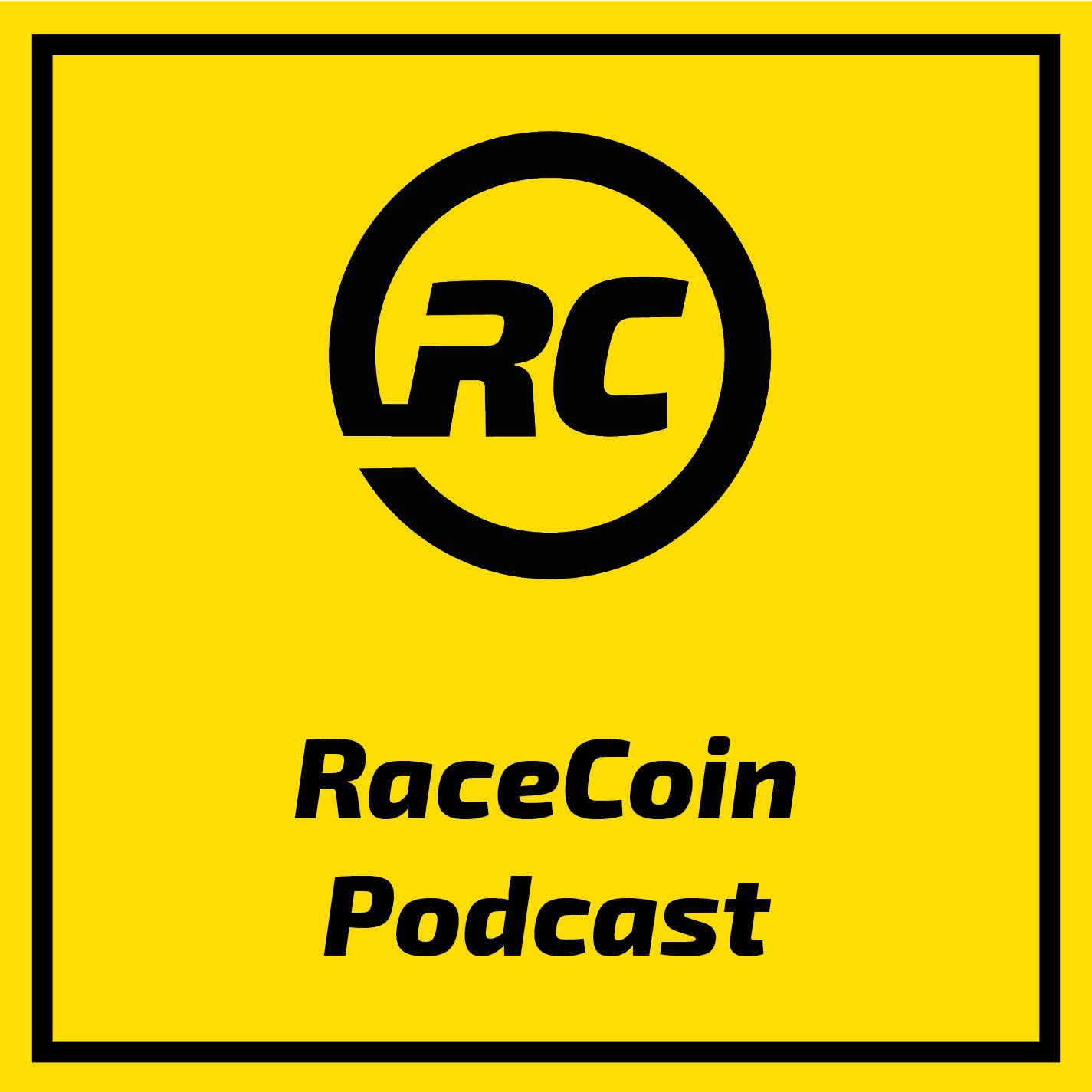 RaceCoin Podcast show art