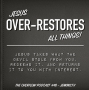 Artwork for Jesus over-restores all things- #46