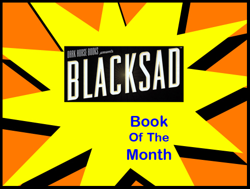 Cammy's Comic Corner - Book Of The Month - Blacksad
