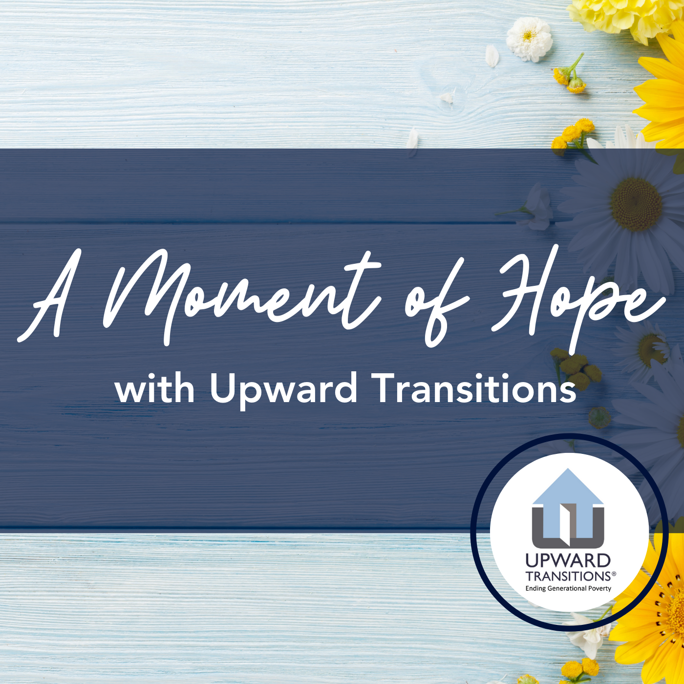 A Moment of Hope with Upward Transitions show art