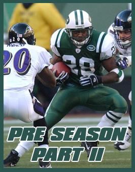 Pre Season Part II
