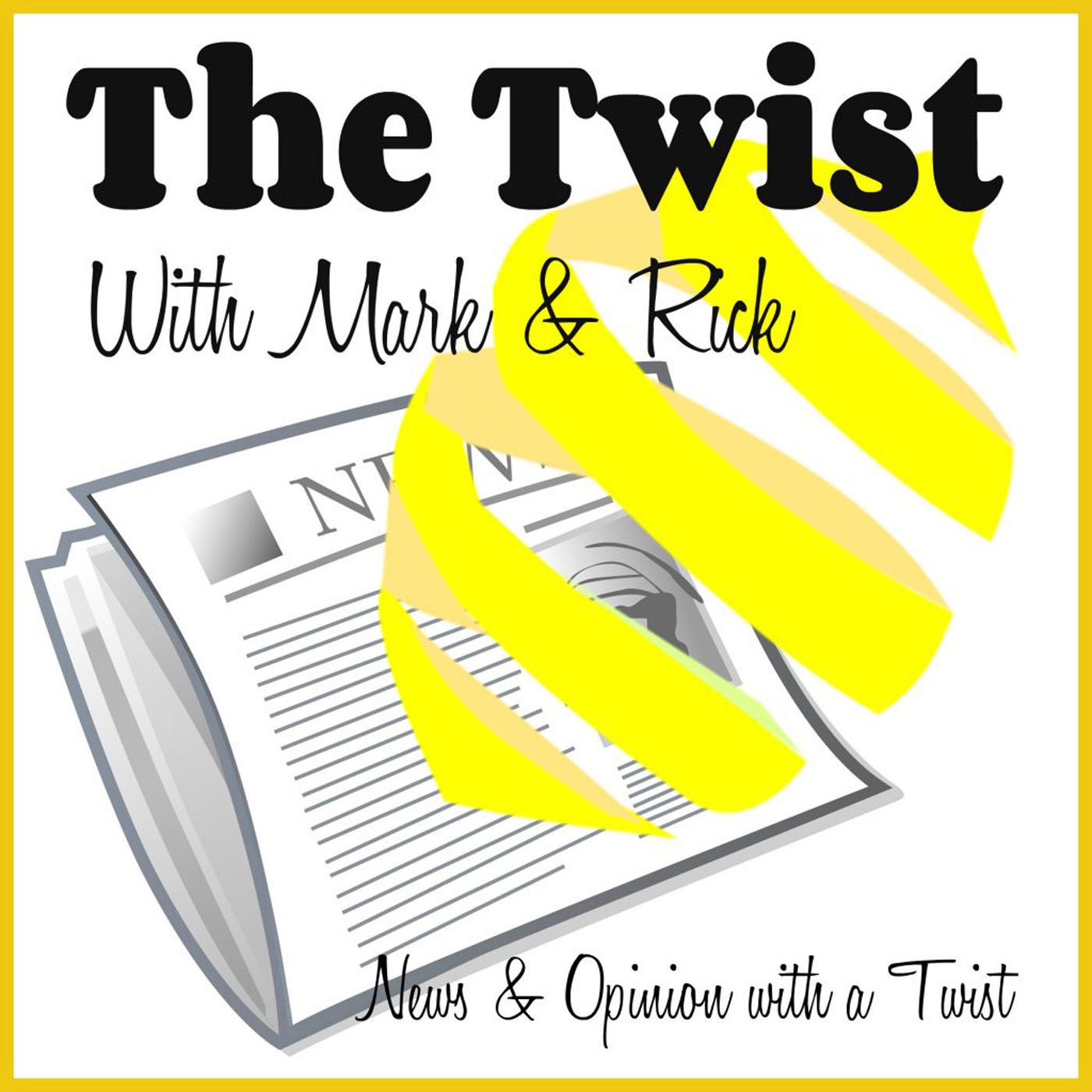 The Twist Podcast #126: Mark Returns to Co-Host, TV and Food Trends, and America in the Mirror show art