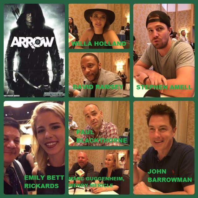 Episode 624 - SDCC: Arrow w/ Stephen Amell/John Barrowman/Paul Blackthorne/Marc Guggenheim/Willa Holland/Wendy Mericle/David Ramsey/Emily Bett Rickards!