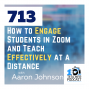 Artwork for How to Engage Students in Zoom and Teach Effectively at a Distance