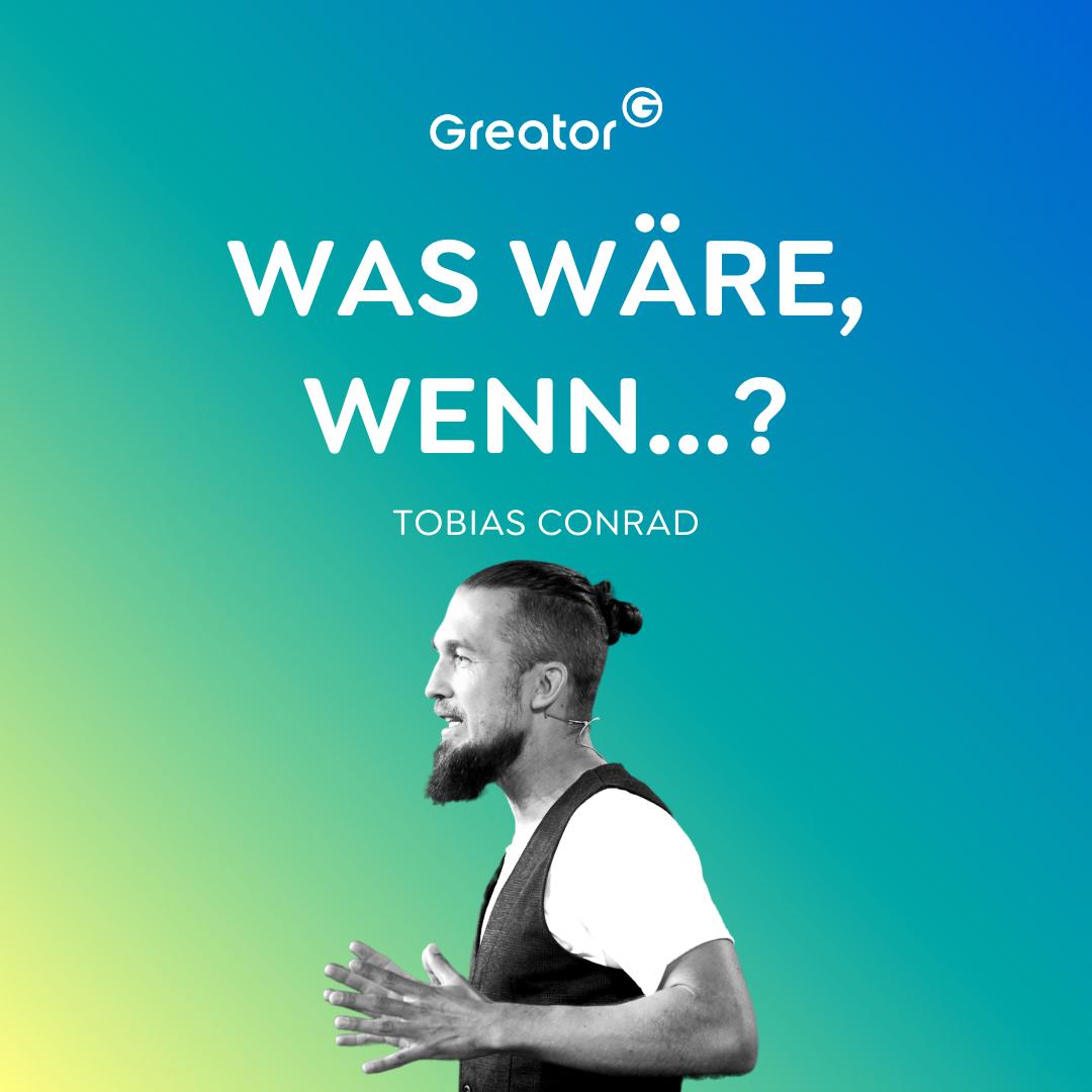 Mutig sein: 5 Schritte, um durch die Angst hindurch zu gehen // Tobias Conrad