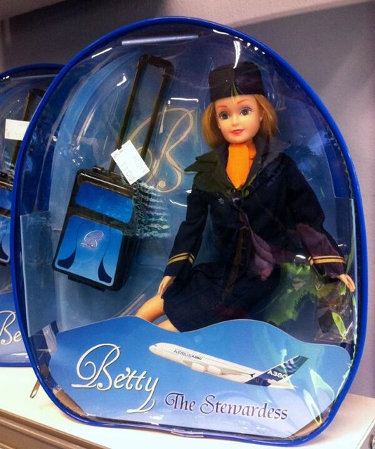 106 Betty the Stewardess Doll
