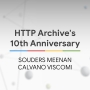 Artwork for HTTP Archive's 10th Anniversary