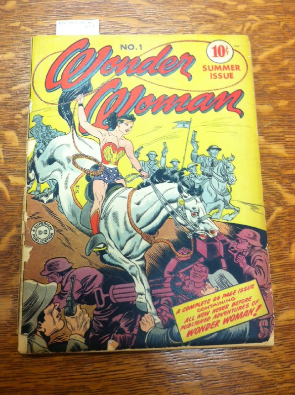 Wonder Woman #1 from MSU Special Collections Library
