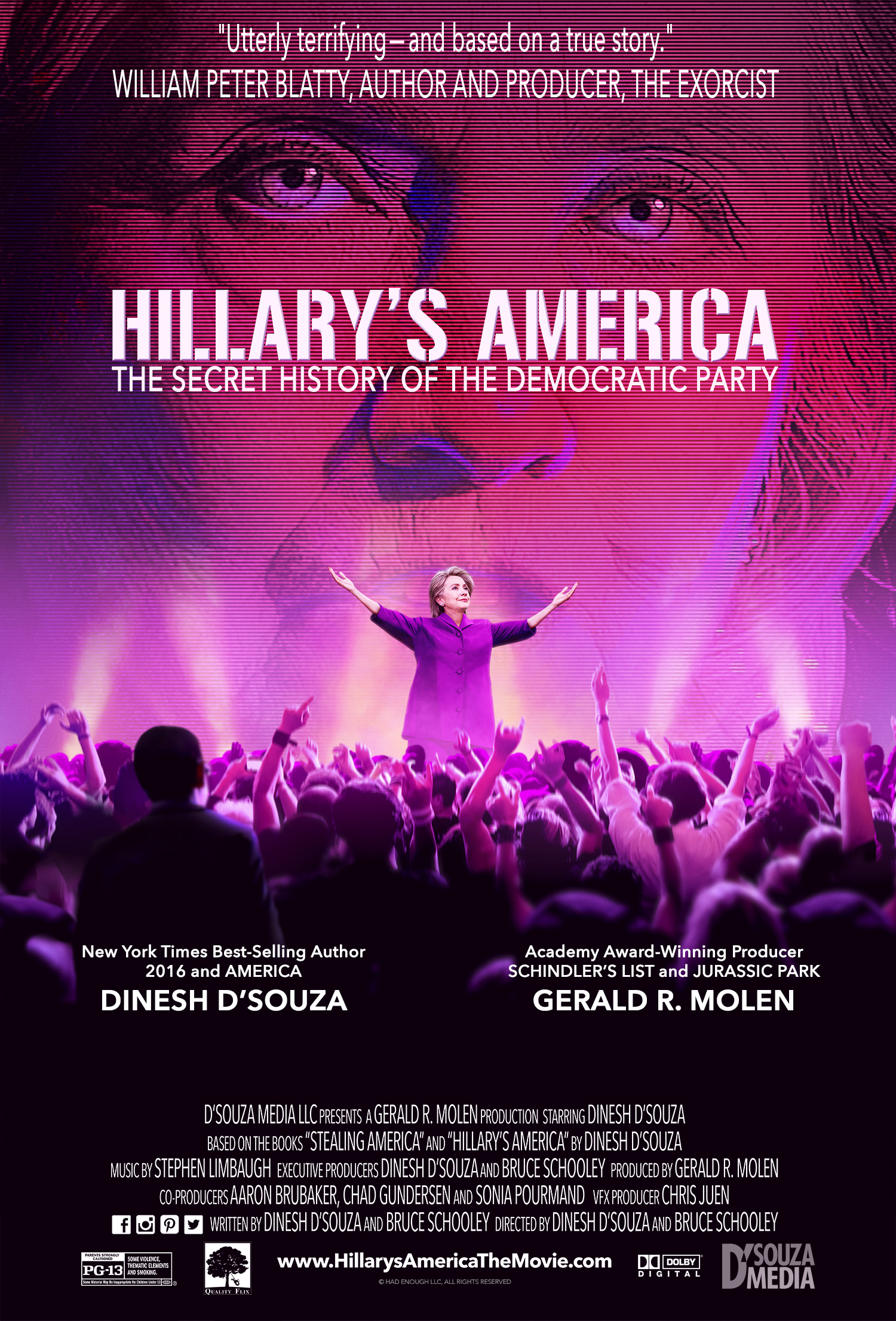 Artwork for Show 1639 Hillarys America Documentary from Dinesh D'Souza