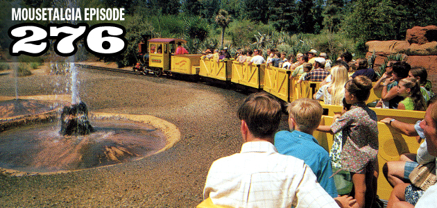 Mousetalgia Episode 276: Disneyland's Mine Train, Disney music