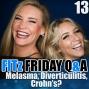 Artwork for FITz Friday Q&A 13 : Melasma, Diverticulitis, & Crohn's Disease Oh My!