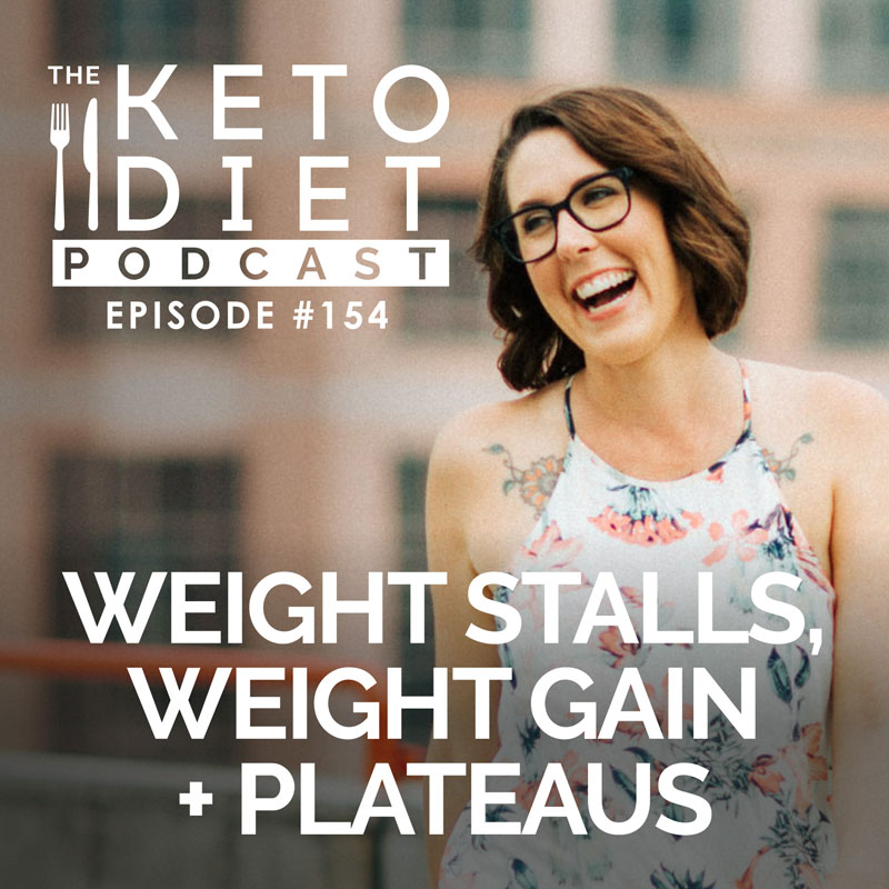 #154 Weight Stalls, Weight Gain + Plateaus