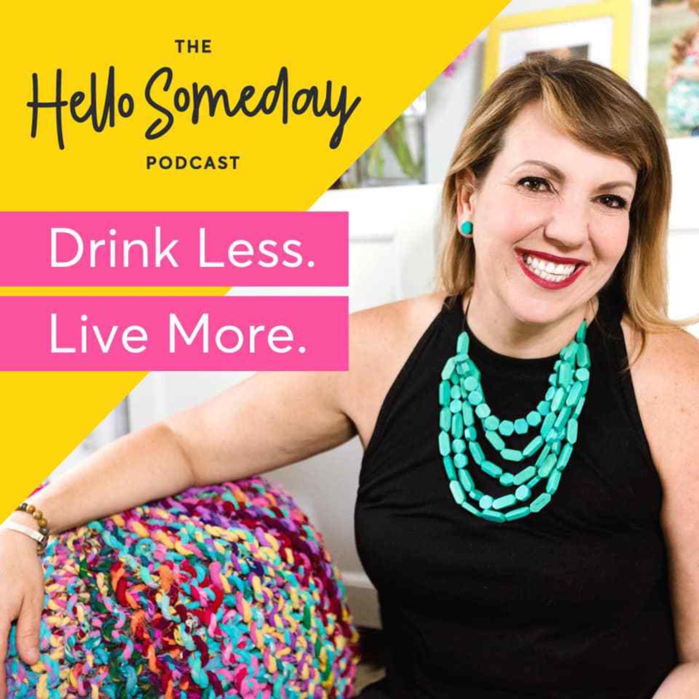 The Hello Someday Podcast show art
