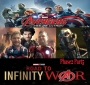 Artwork for Road To Infinity War... AVENGERS AGE OF ULTRON... Guest Host Toby Osmond