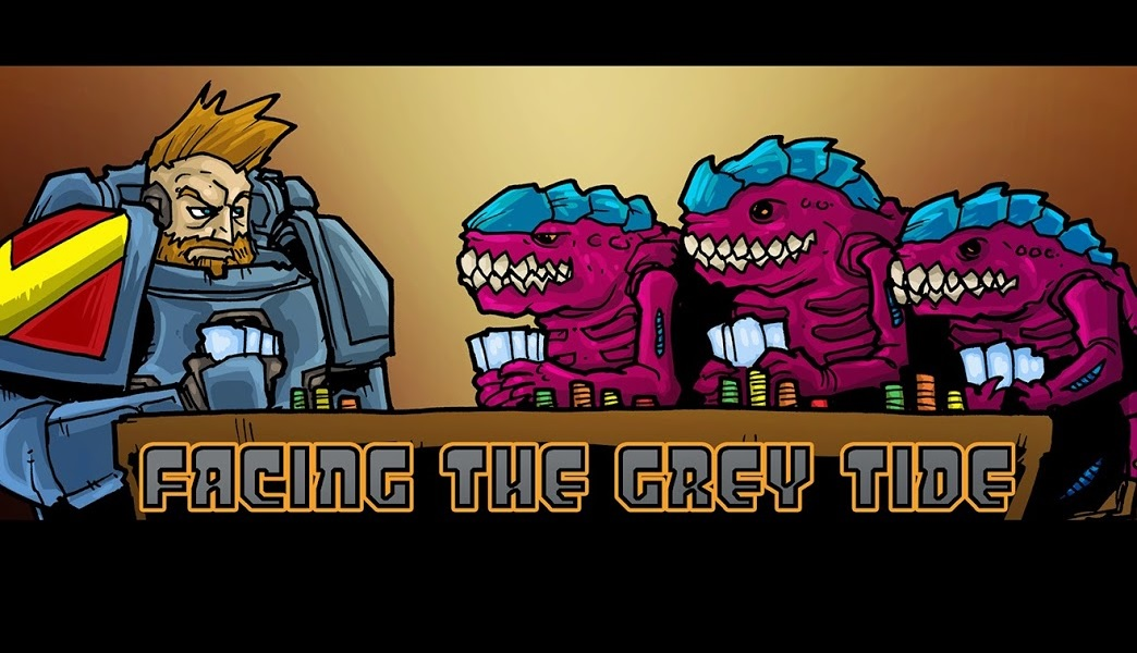 Facing the Grey Tide Podcast - Episode 12:  Space Wolves Warlord Traits, Psyker Powers, and Nova Missions