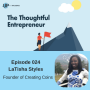 Artwork for Ep 024 - LaTisha Styles Shares Insights on Introvert-Friendly Sales Systems