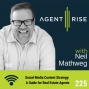 Artwork for Social Media Content Strategy: a Guide for Real Estate Agents - Episode #225
