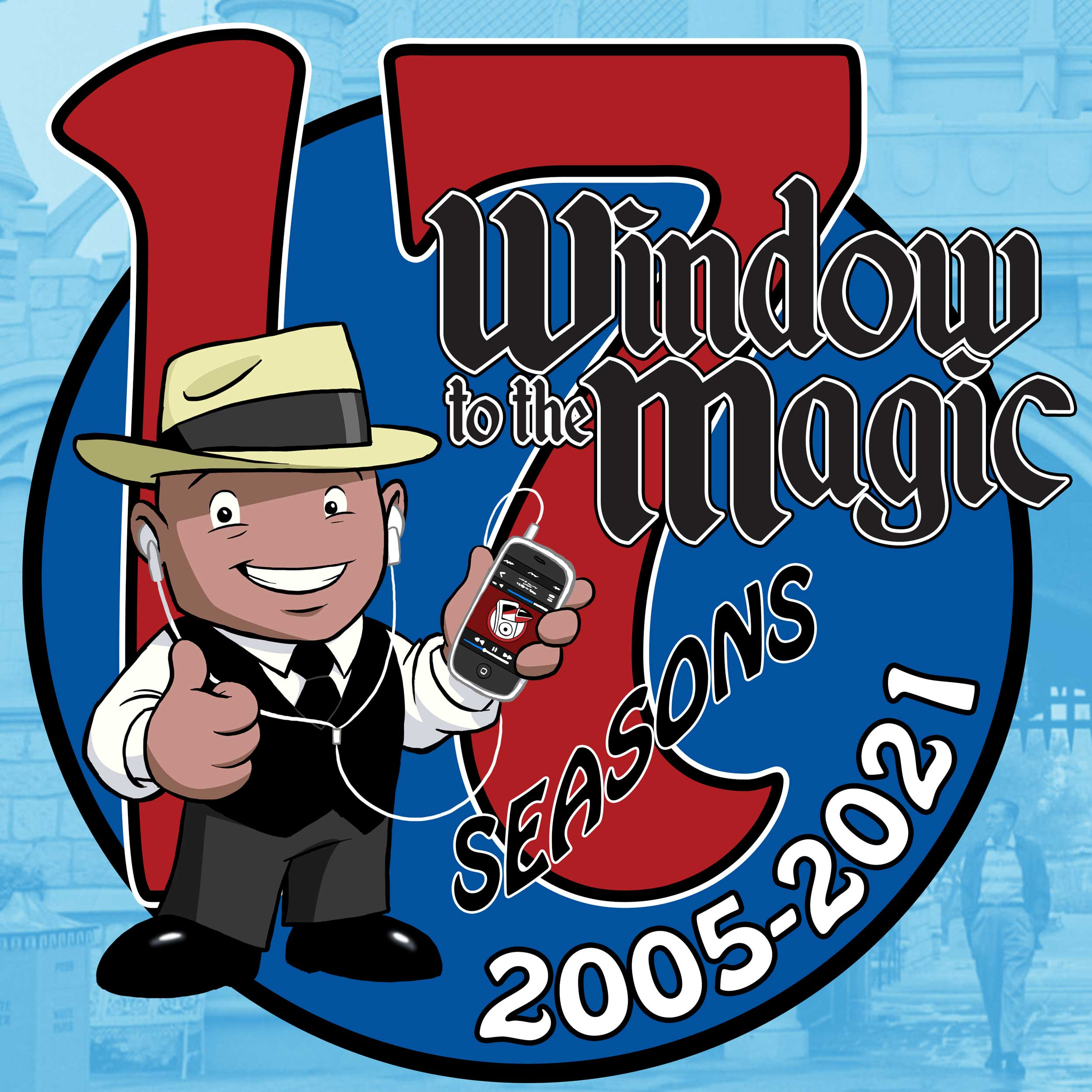 A WINDOW TO THE MAGIC: DISNEYLAND ADVENTURE PODCAST show art