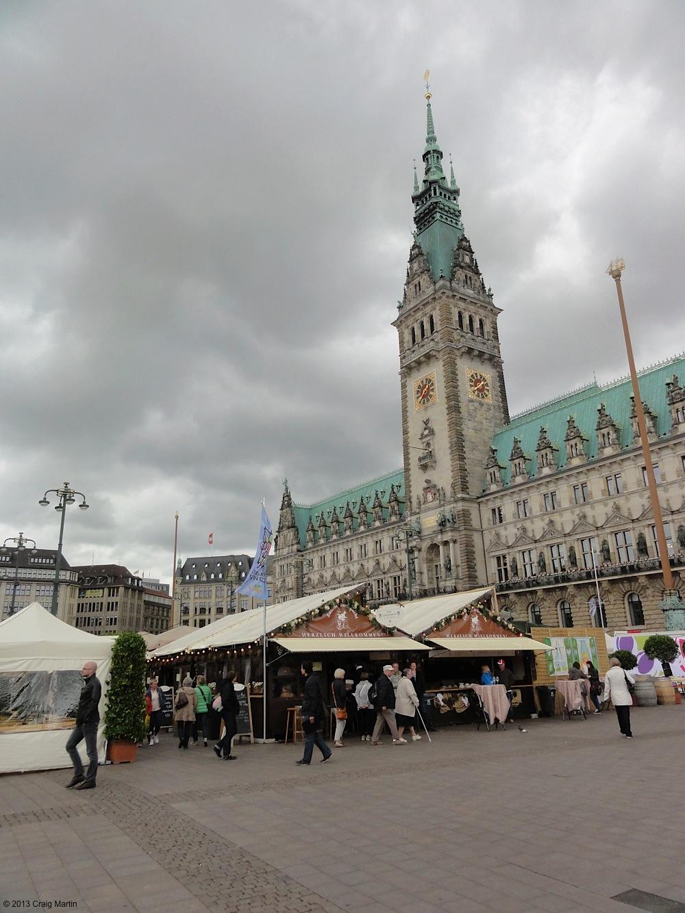 Hamburg... Surprisingly wet and wonderful