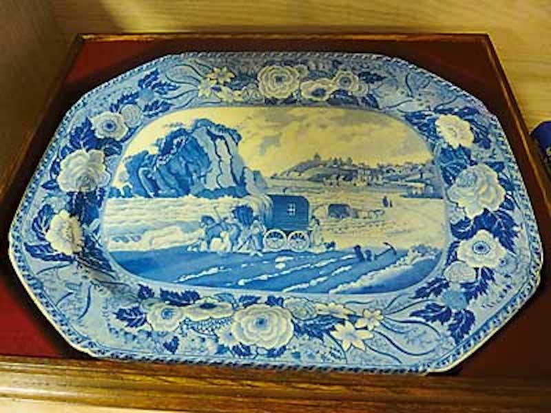 Minton's Monk's Rock plate