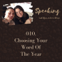 Artwork for 010. Choosing Your Word Of The Year