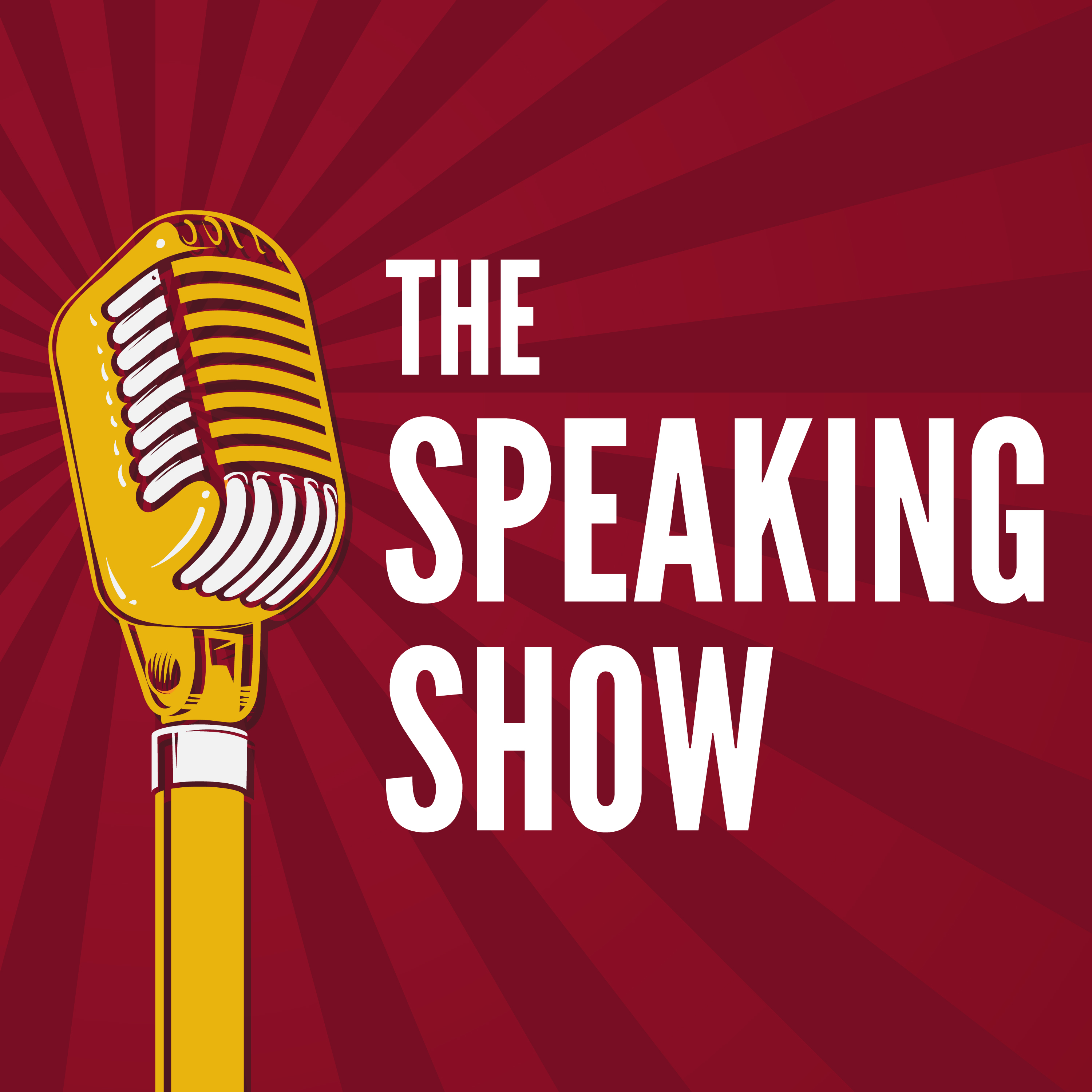 The Speaking Show show art
