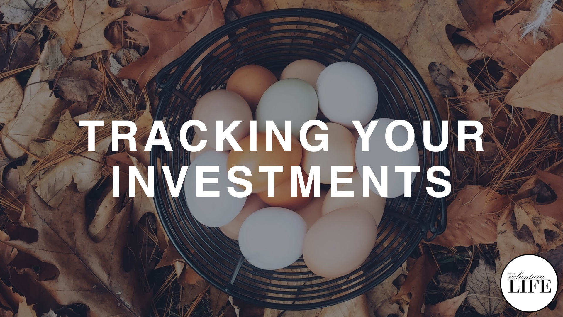 337 Tracking Your Investments