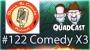 Artwork for Yoga, Drugs, Comedy and Disneyland @ThreeIsComedy #122 QuadCast