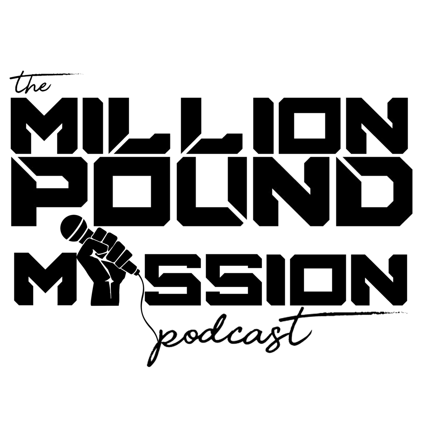 The Million Pound Mission Podcast with Adam Schaeuble show art