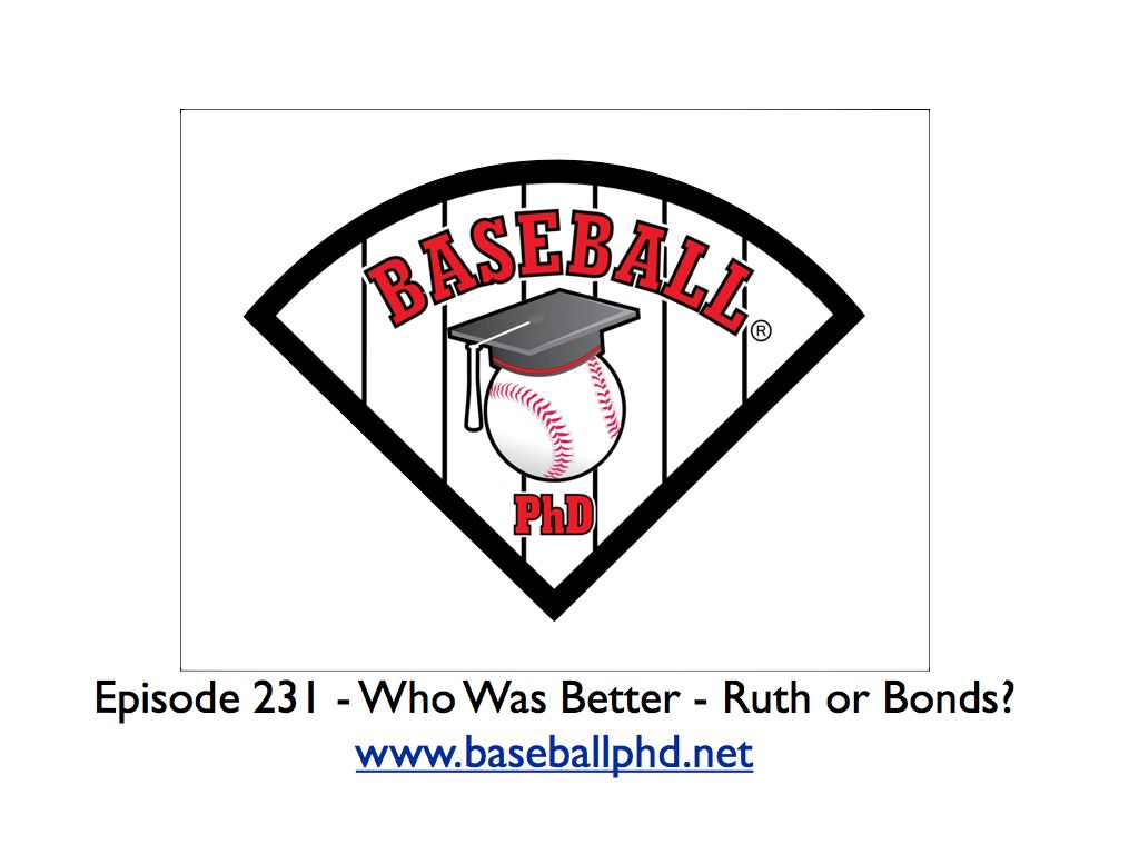 2021 Minicast – Who was Better – Ruth or Bonds? show art