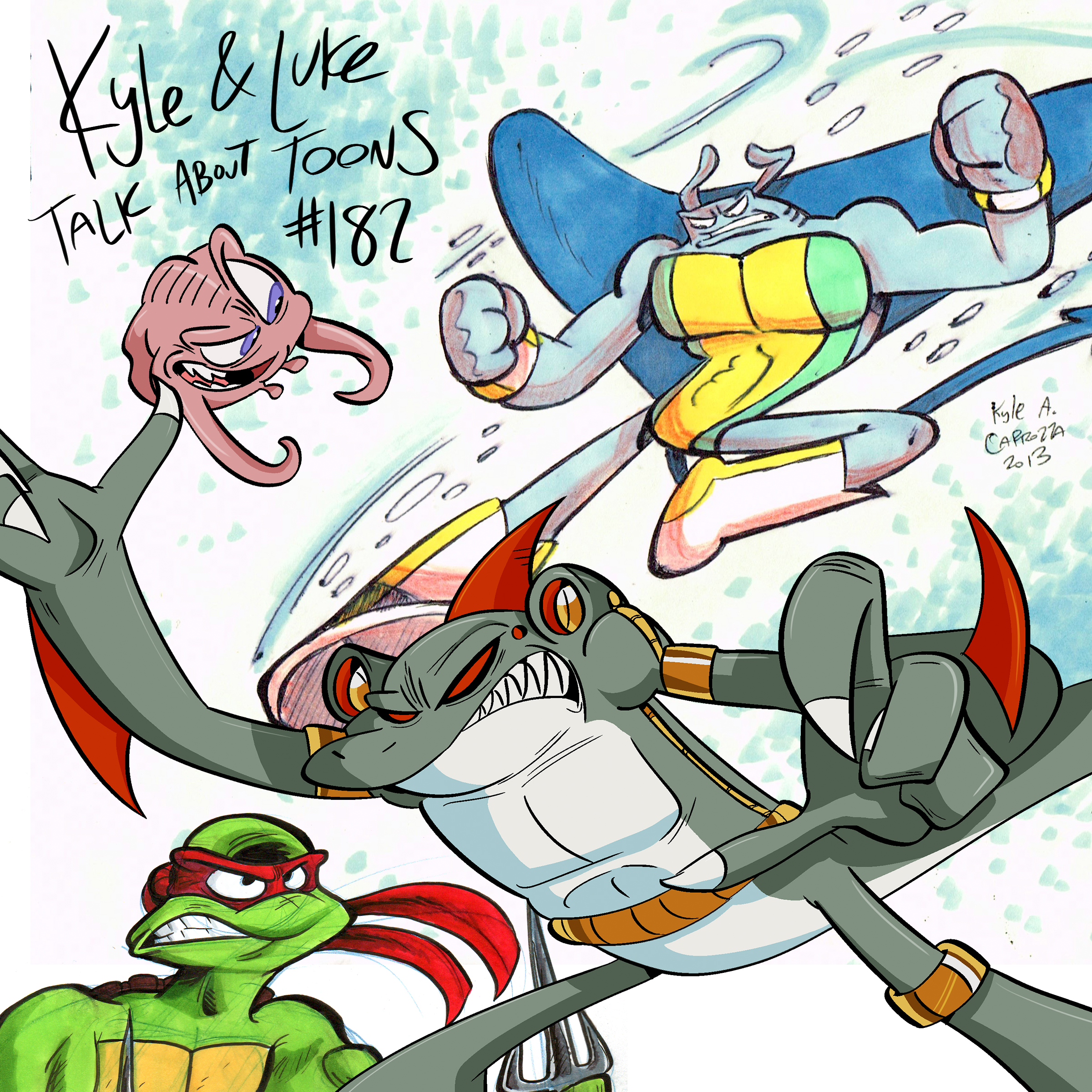Kyle and Luke Talk About Toons #182: Sometimes All You Need is a Future Shark