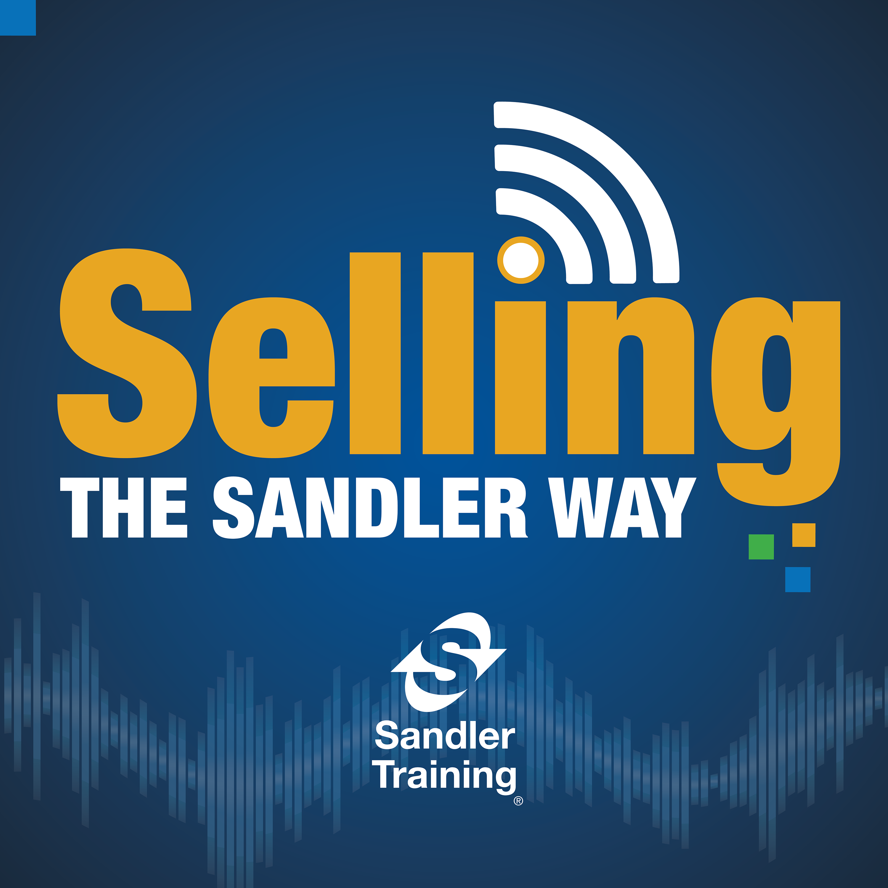 Selling the Sandler Way Podcast show art