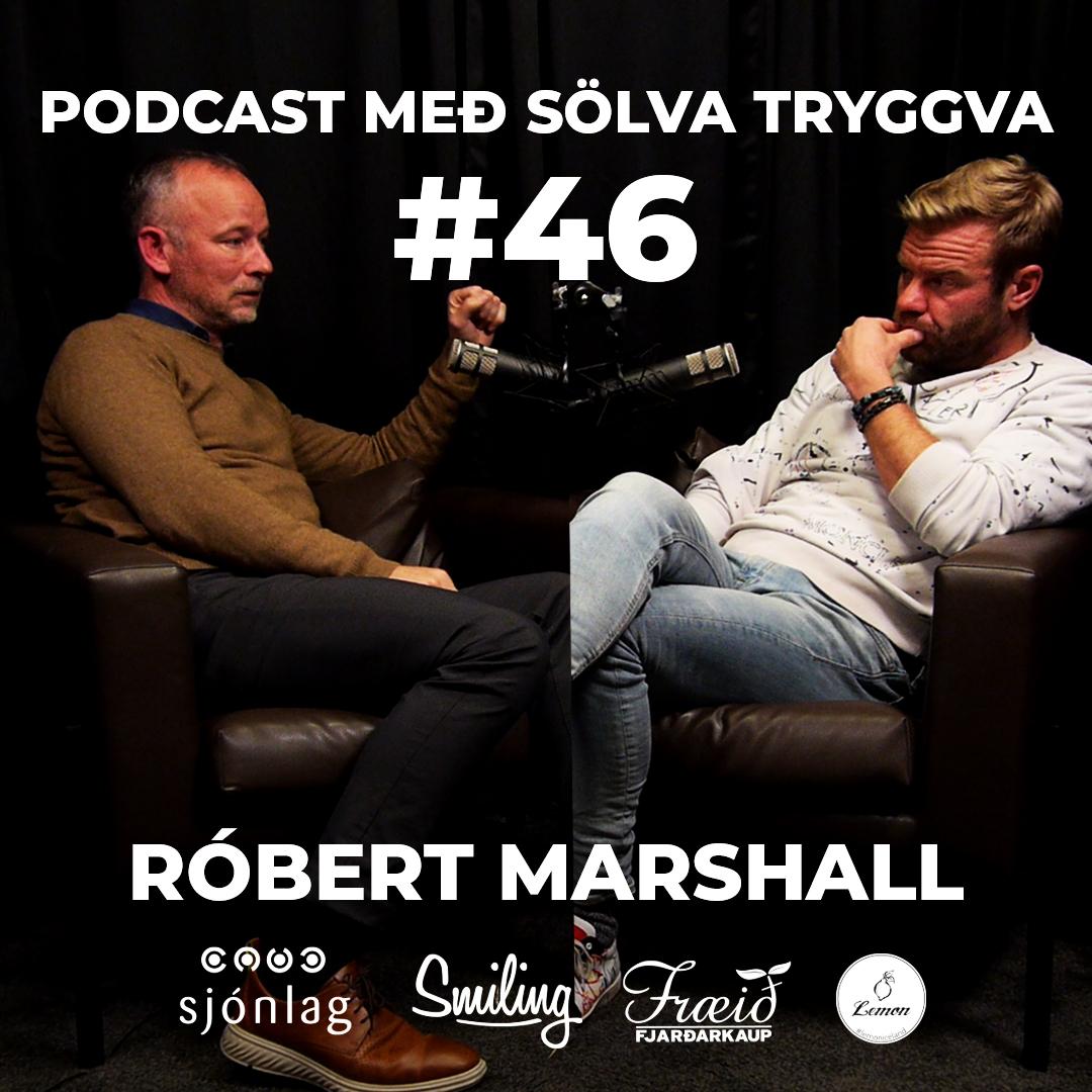 #46 Róbert Marshall með Sölva Tryggva