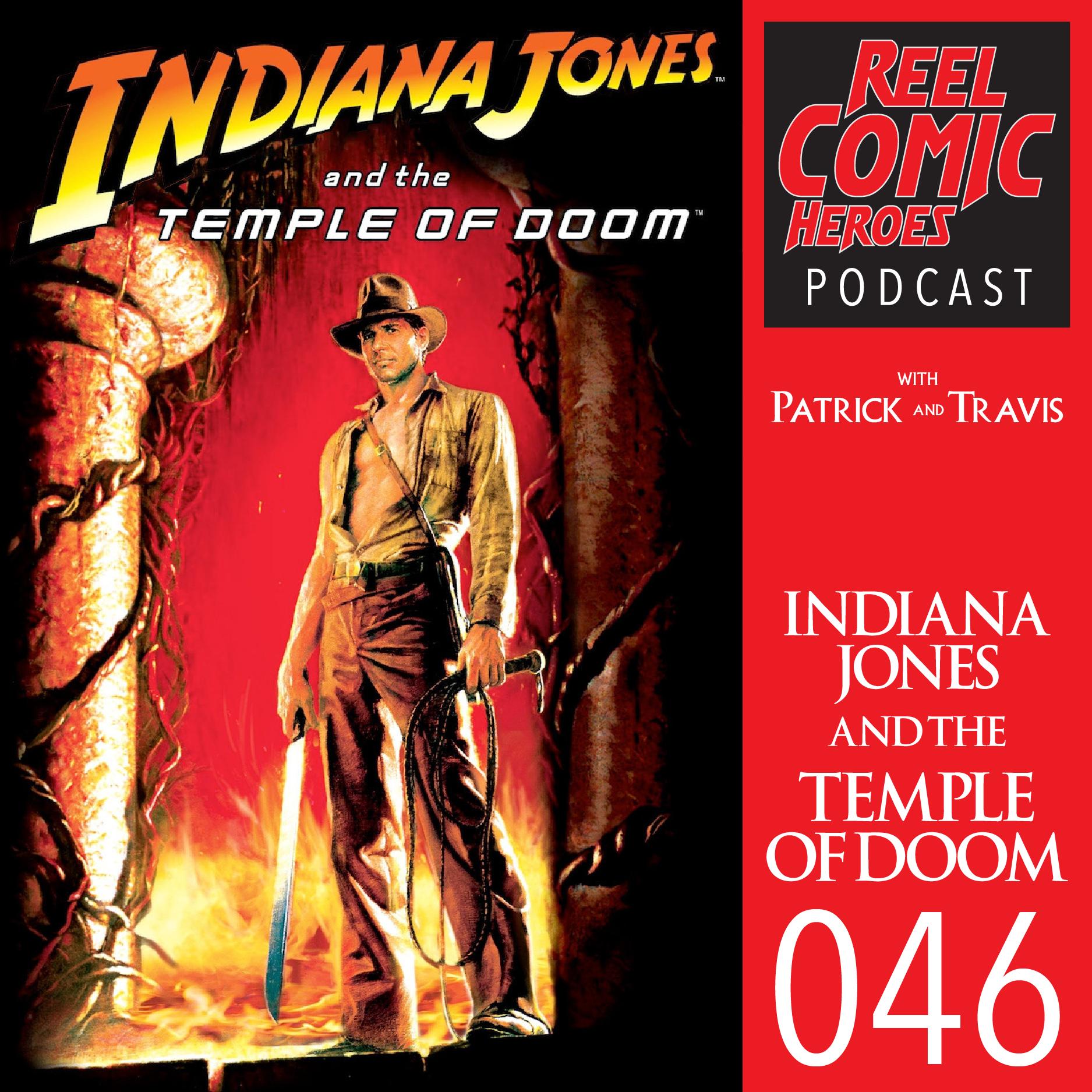 Artwork for Reel Comic Heroes 046 - Indiana Jones and the Temple of Doom