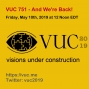 Artwork for VUC751 - And We're Back!