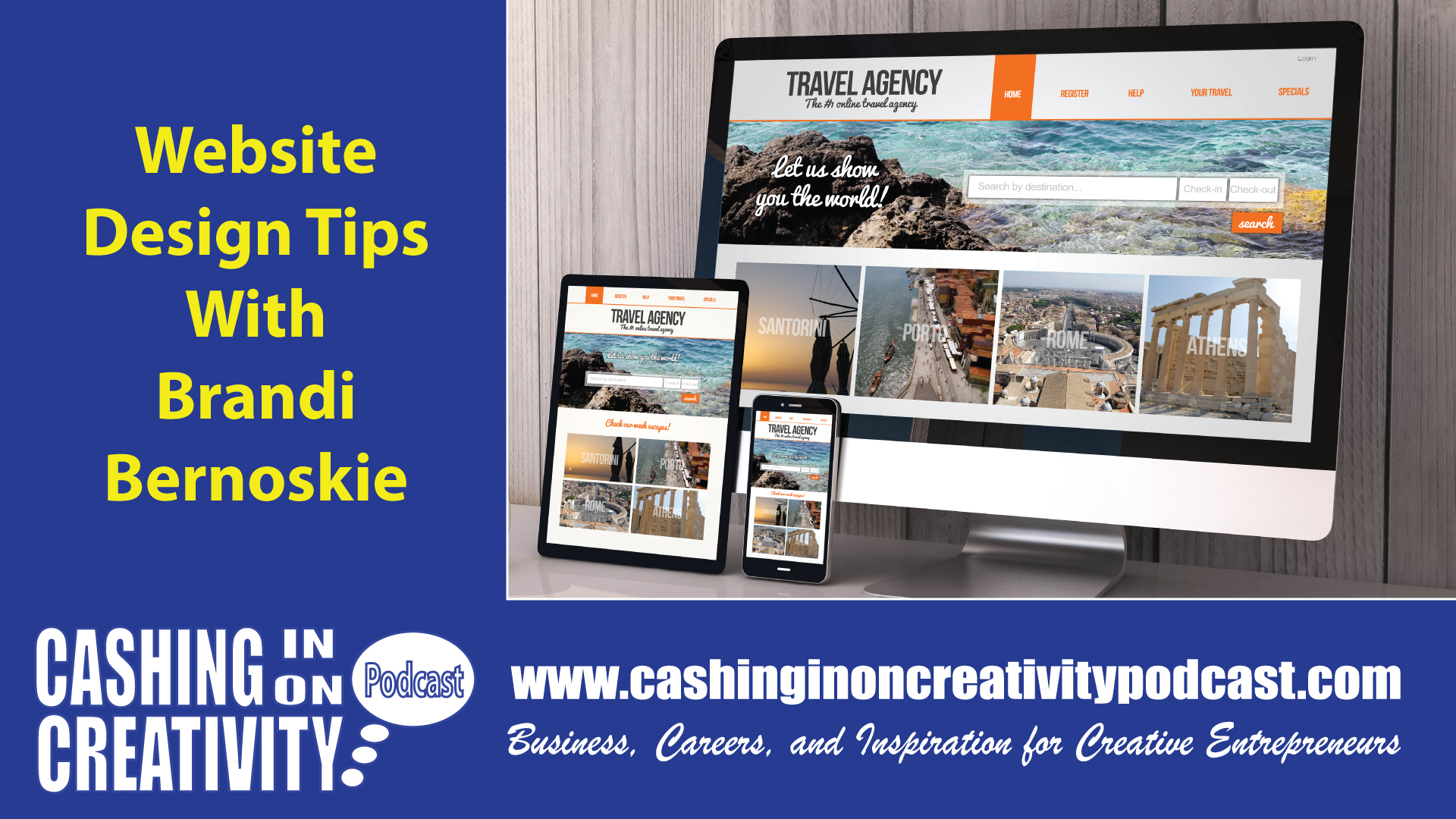 CC242 Website Design for Creative Entrepreneurs with Brandi Bernoskie