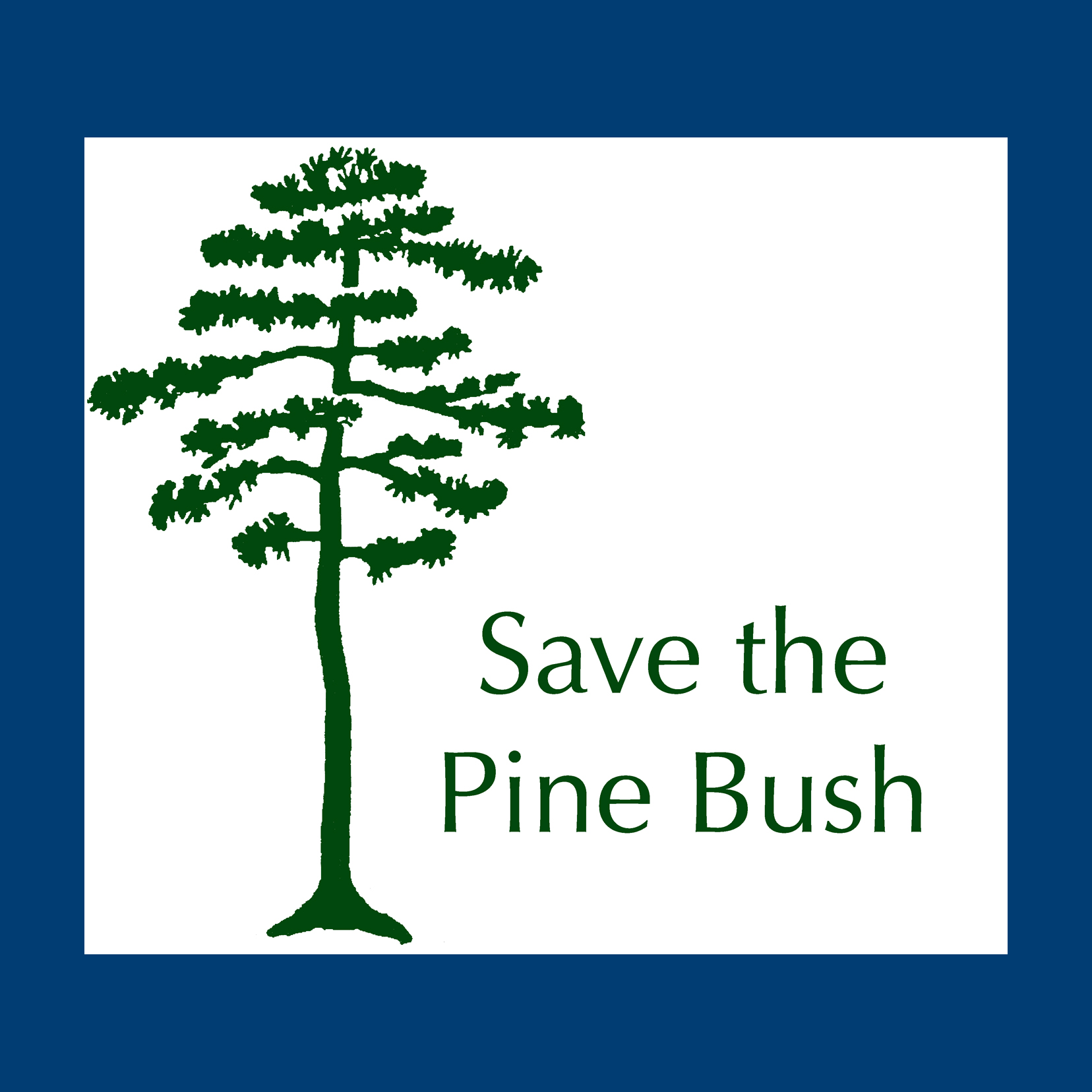 Dinner with Save the Pine Bush show art