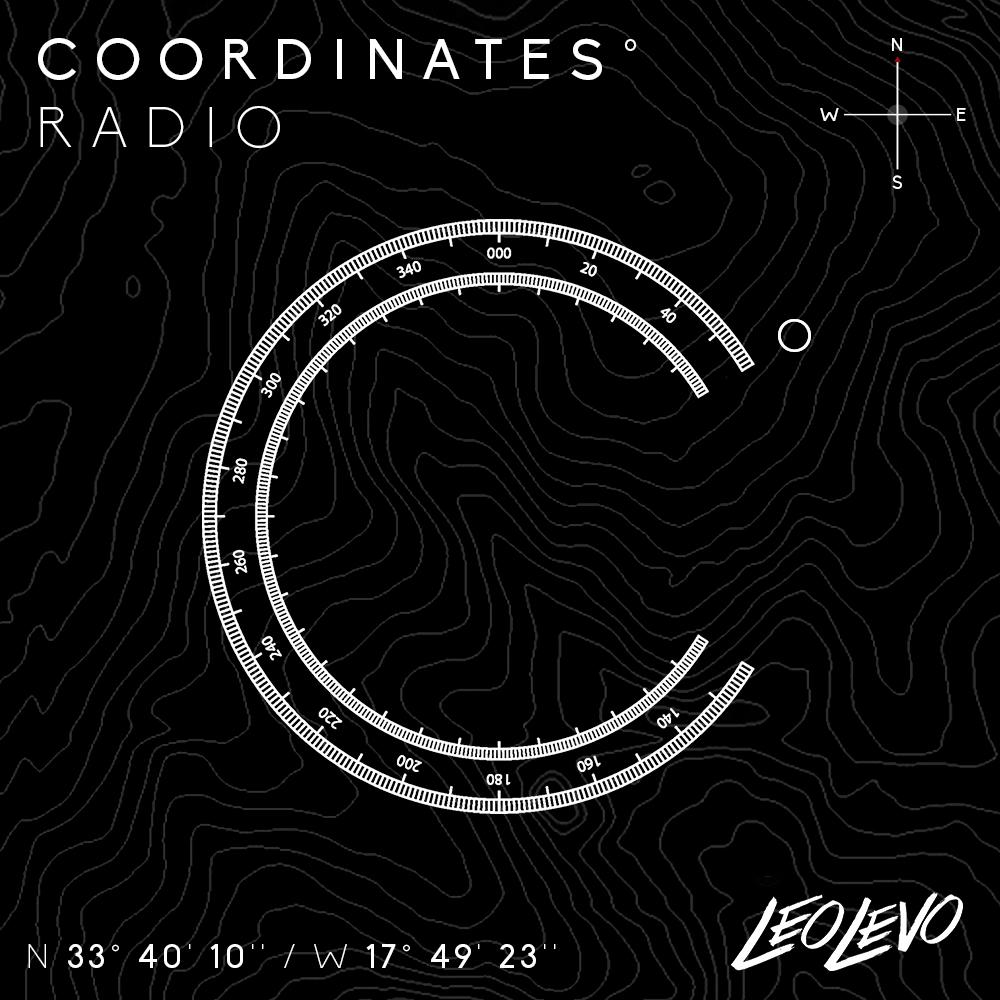 Coordinates° Radio show art