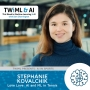 Artwork for Love Love: AI and ML in Tennis with Stephanie Kovalchik - TWiML Talk #159