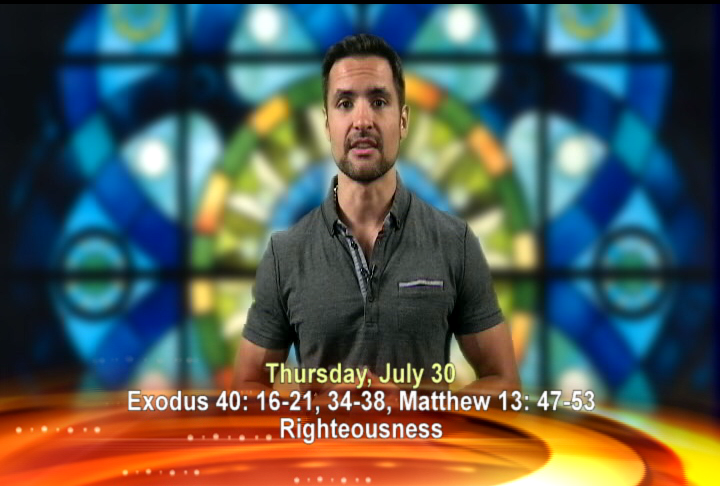 Artwork for Thursday, July 30th Today's Topic: Righteousness