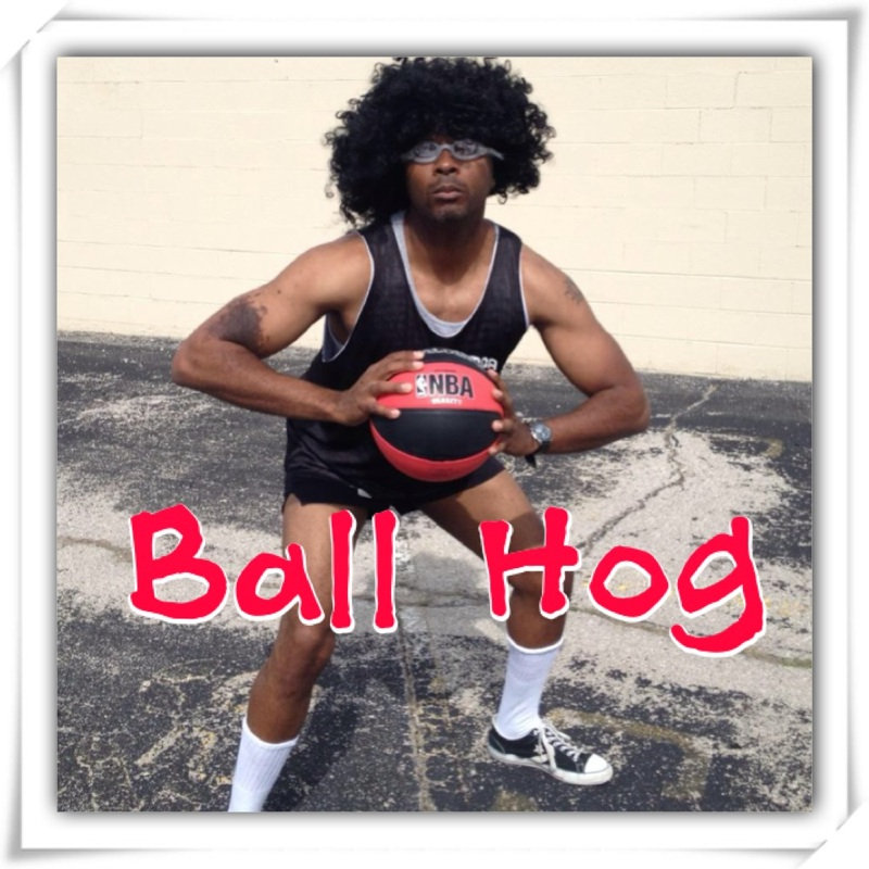 Ball Hog Eve show art