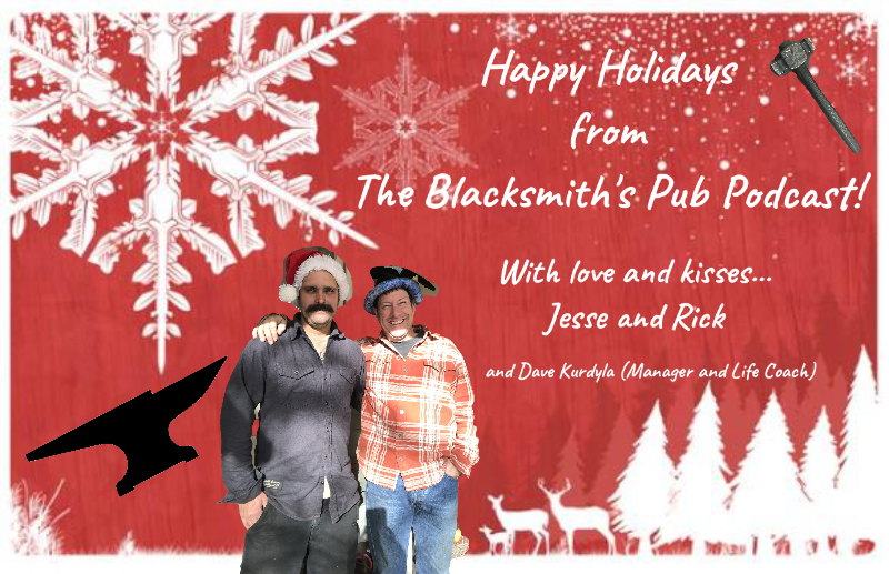 Happy Holidays from Jesse and Rick
