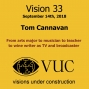 Artwork for Vision 33 : Tom Cannavan