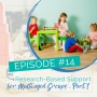 Artwork for Episode 14: Research-Based Support for Montessori Multi-age Groups - Part 1