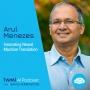 Artwork for Innovating Neural Machine Translation with Arul Menezes - #458