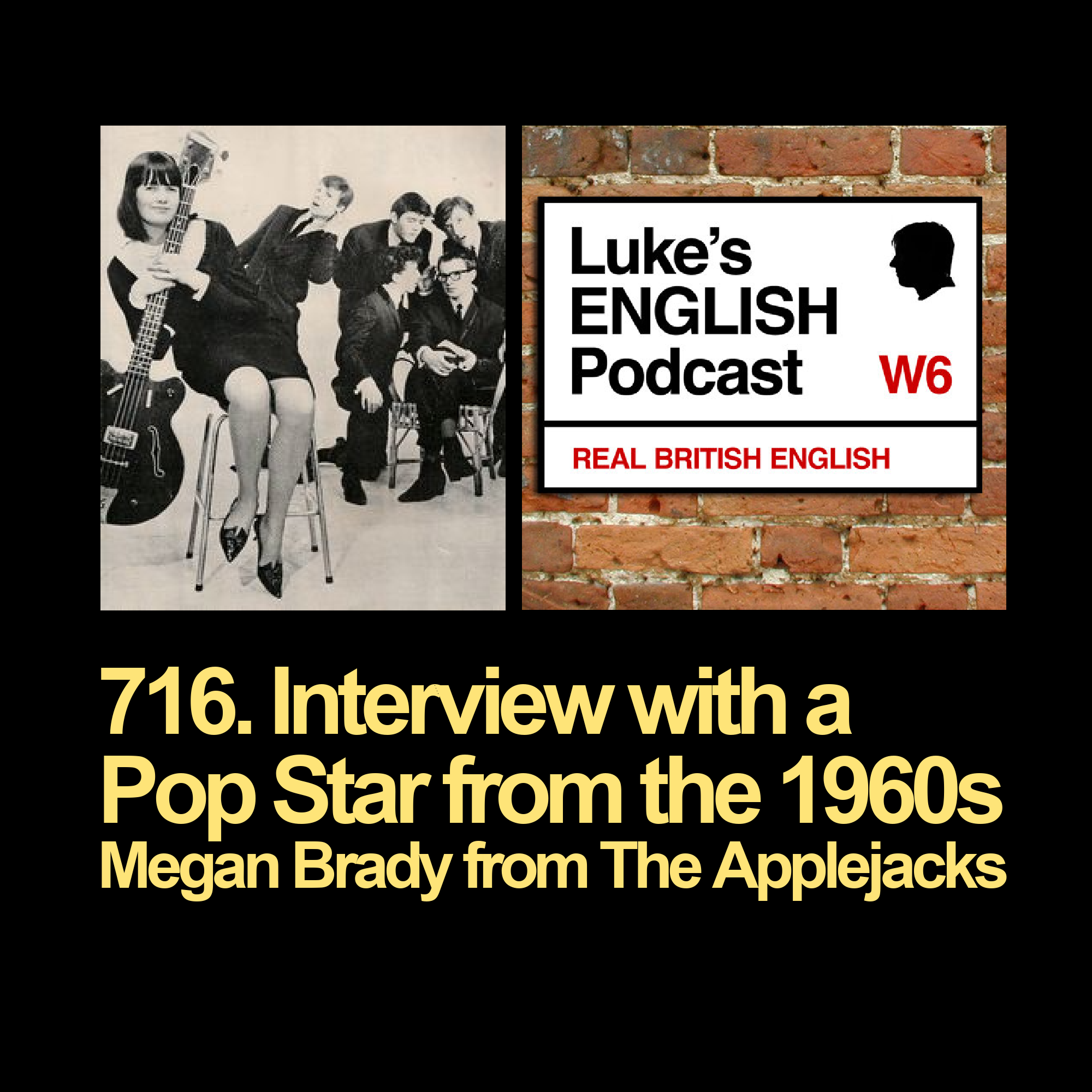 716. Interview with a Pop Star from the 1960s - Megan Brady from The Applejacks
