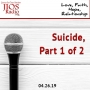 Artwork for JIOS Radio Podcast 402619 - Suicide, Part 1 of 2