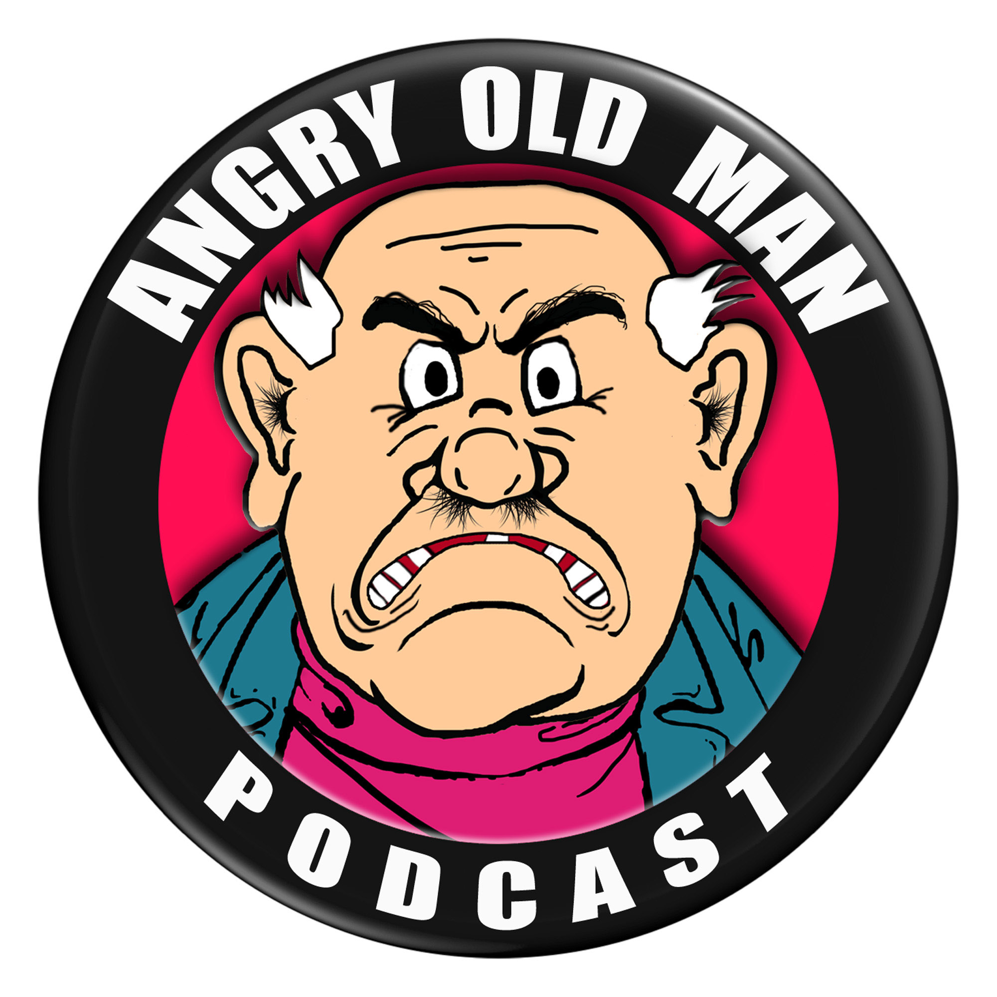 Angry Old Man Podcast show art