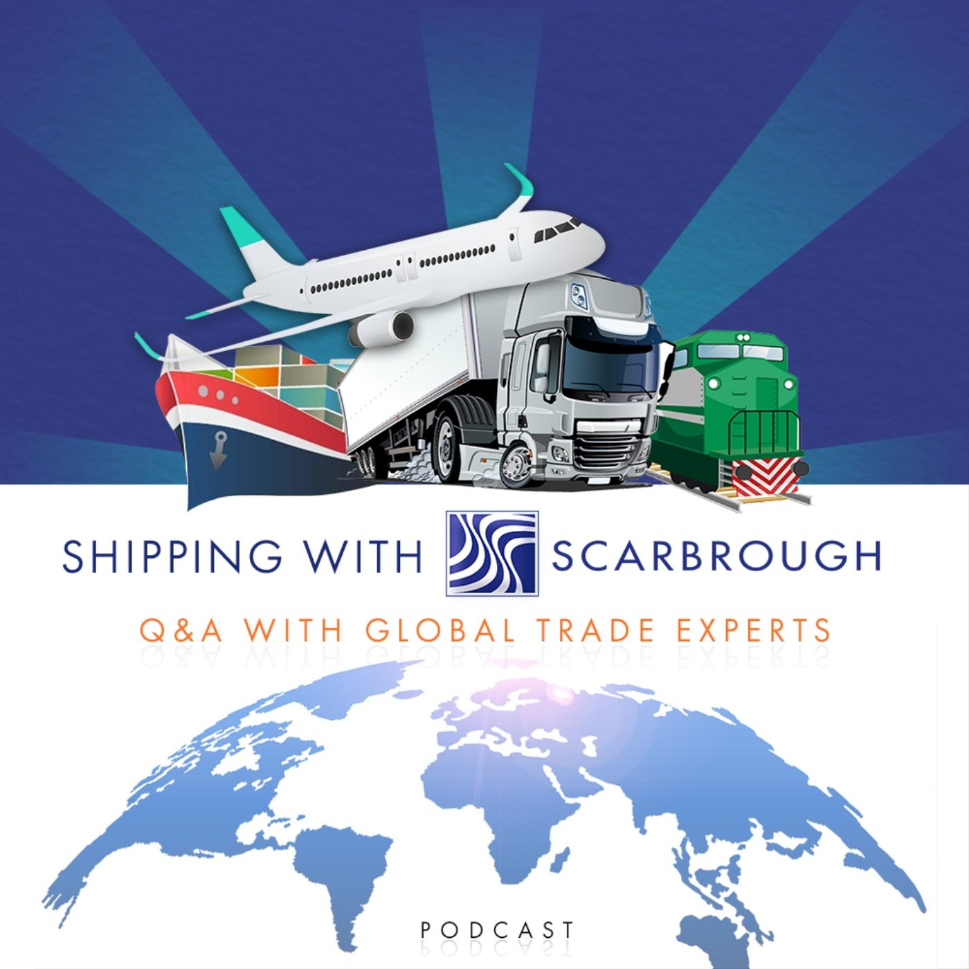 Shipping with Scarbrough show art