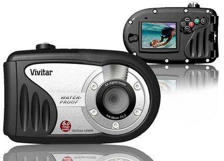 La ViviCam 6200W de Vivitar para tomar fotografías bajo el agua